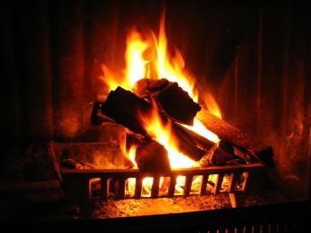 fireplace preparation
