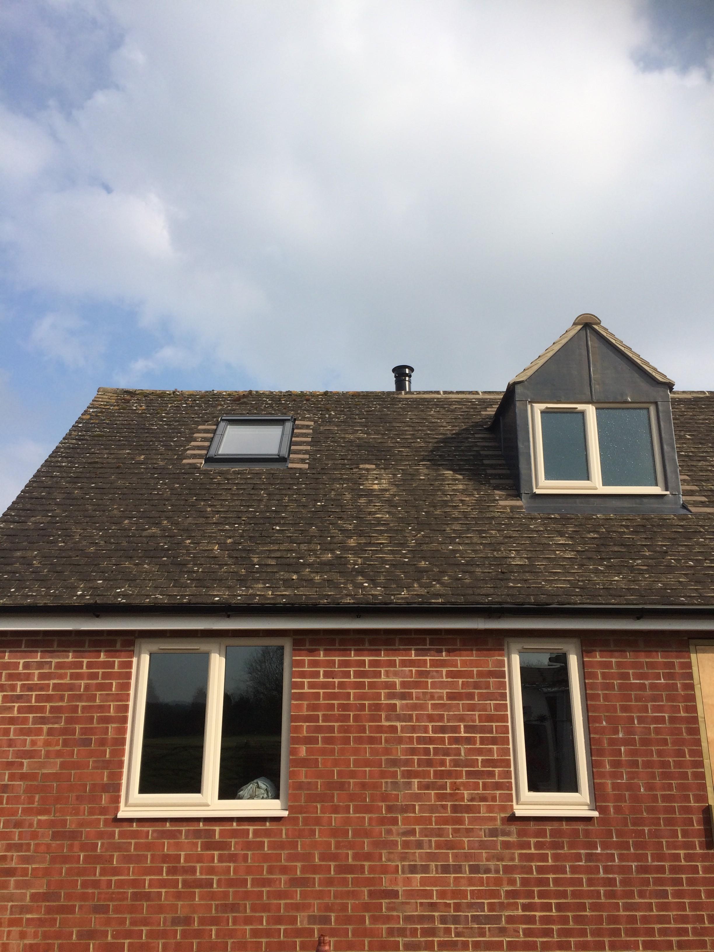 Garage to annexe conversation bloxham banbury chimney for Annexe garage